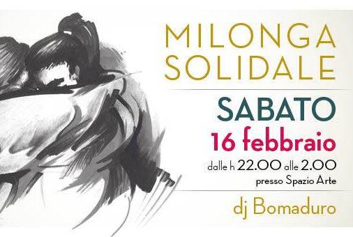 Milonga Solidale Oltretango - 16.02.19