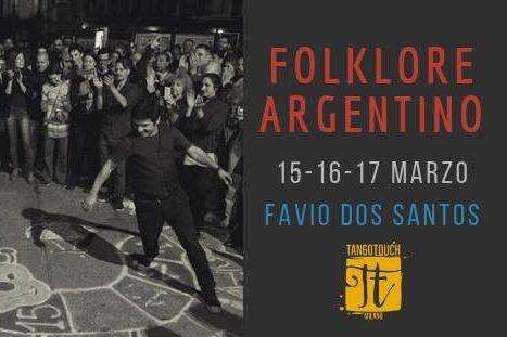 Week end di Folklore Argentino con Favio Dos Santos
