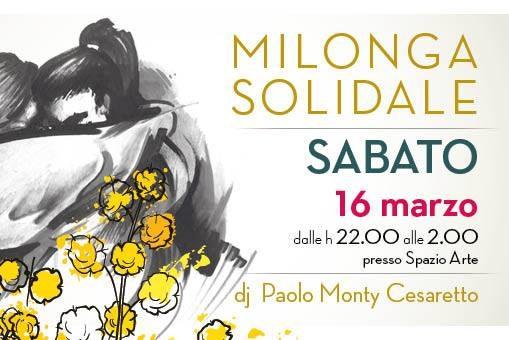Milonga Solidale 16 marzo 2019