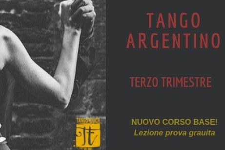 Tango Touch Milano_ NUOVO TRIMESTRE
