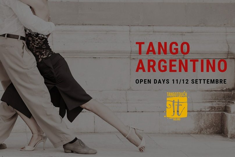 Tango Touch Open Days Settembre 2019