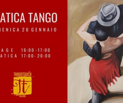 Foto locandina Pratica Tango Touch 26 gennaio 2020
