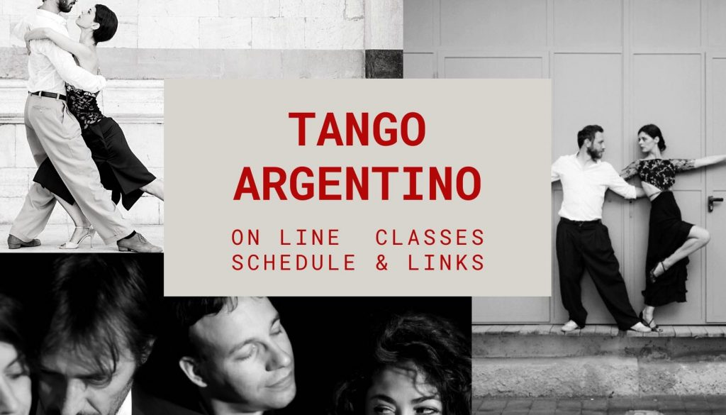 lezioni online di tango argentino a cura di Tango Touch