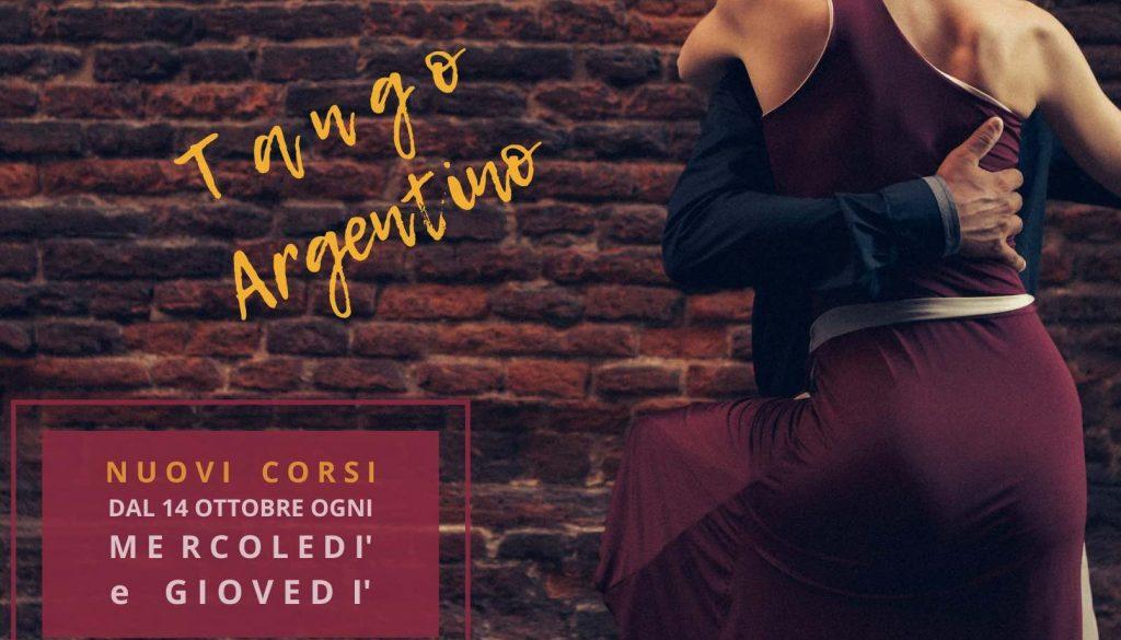 Nuovi corsi di Tango Argentino a cura di Tango Touch
