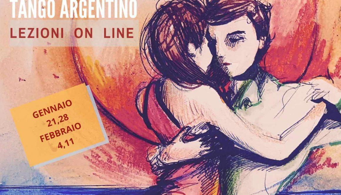 Lezioni on line di Tango - dal 21.01.21