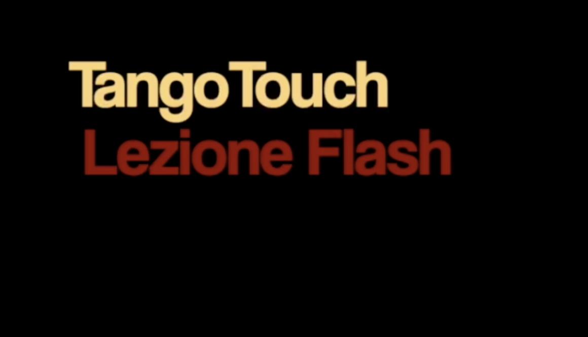 Tango Touch - Lezione Flash